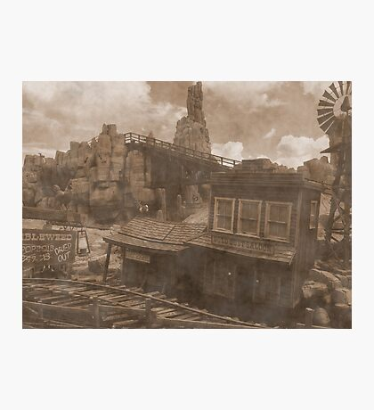 Gold Dust Saloon Photographic Print
