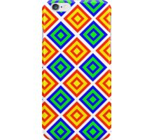 Colourful Diamond Pattern iPhone Case/Skin