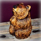 """ Praying Bear "" by Smiling Bear Creations by CanyonWind"