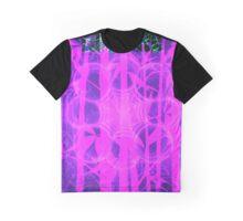 Empire Print Bamboo Bubblegum || Bamboo Empire || Fractal Art Graphic T-Shirt