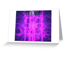 Empire Print Bamboo Bubblegum || Bamboo Empire || Fractal Art Greeting Card