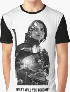 Star Wars : Rogue One - Jyn Erso's fate Graphic T-Shirt