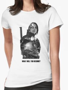 Star Wars : Rogue One - Jyn Erso's fate Womens Fitted T-Shirt