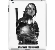 Star Wars : Rogue One - Jyn Erso's fate iPad Case/Skin