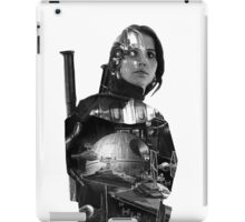 Star Wars : Rogue One - Jyn Erso's fate - TEXTLESS VARIANT iPad Case/Skin