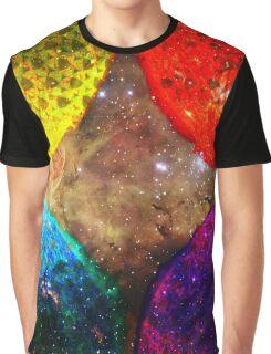 Four Suns Triforce || Future Life Fashion || Fractal Art Graphic T-Shirt