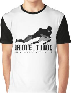 Game Time - Tackle (White) Graphic T-Shirt
