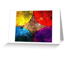 Four Suns Triforce || Future Life Fashion || Fractal Art Greeting Card