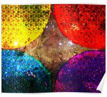 Four Suns Triforce || Future Life Fashion || Fractal Art Poster