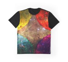 Four Suns Bright || Future Life Fashion || Fractal Art Graphic T-Shirt