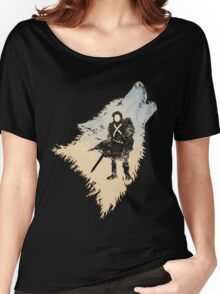 Ghost Wolf Women's Relaxed Fit T-Shirt
