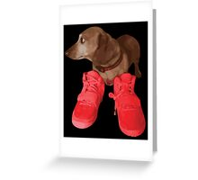 Jeff in Red Octobers Greeting Card