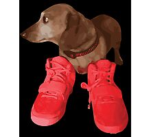 Jeff in Red Octobers Photographic Print