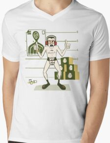 'Mac' Mens V-Neck T-Shirt