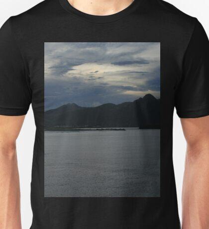 Dusk in Samoa DPG150414a Unisex T-Shirt