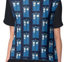 Time and Relative Dimensions in Space Chiffon Top