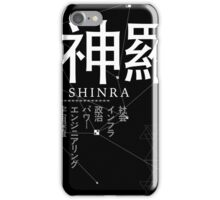 shinra electric power company iPhone Case/Skin