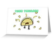 Taco Tuesday Greeting Card
