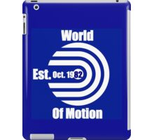 World of Motion iPad Case/Skin