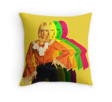 Sylvie Vartan amazing design! Throw Pillow