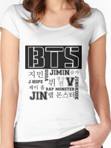 BTS! Women's Fitted Scoop T-Shirt