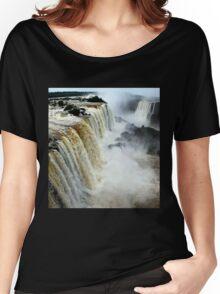 Devil's Throat at Iguassu Falls, Brazil & Argentina.  Women's Relaxed Fit T-Shirt