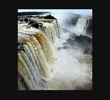 Devil's Throat at Iguassu Falls, Brazil & Argentina.  Unisex T-Shirt