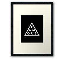 Famous Framed Print
