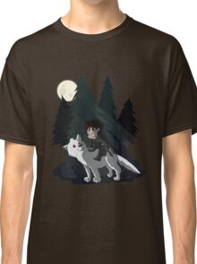 The White Wolf - Cute Style (No Blood) Classic T-Shirt
