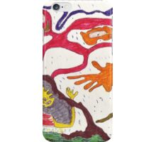 Attack of the gummy people! iPhone Case/Skin