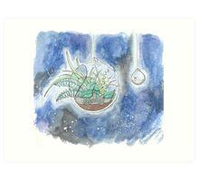 Space Terrariums Art Print