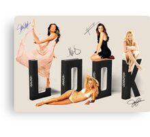 Salma, Maria, Pe and Jen, LOOK! Canvas Print