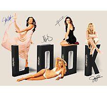 Salma, Maria, Pe and Jen, LOOK! Photographic Print