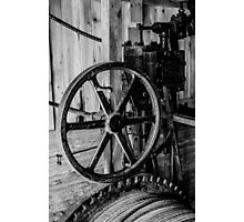 Antique Engine, Logging Museum, Algonquin Park Photographic Print