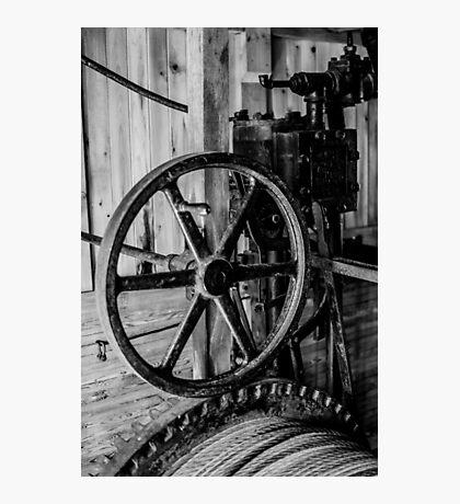 Antique Engine, Logging Museum, Algonquin Park Photographic Print