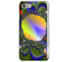Floating Mirror Flower Fractal iPhone Case/Skin