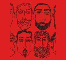 Beards. (plural) Baby Tee