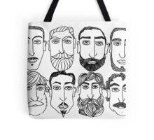 Beards. (plural) Tote Bag