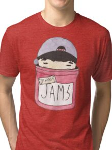 Jimin's Jam Jar Tri-blend T-Shirt