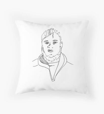 Matthew. Throw Pillow