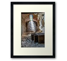 Filed To Death Framed Print