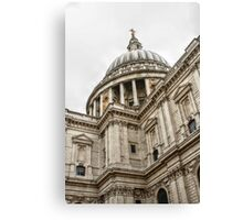 Looking Up at the Dome of St Paul's Canvas Print