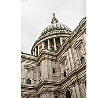 Looking Up at the Dome of St Paul's Photographic Print
