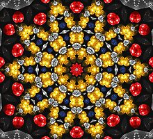 Fractal - Mesh and Beads - Sun Star by LjMaxx