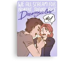 Scully's Dreamsicle Canvas Print