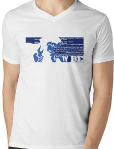 Spike Cowboy bebop Mens V-Neck T-Shirt