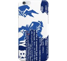 Spike Cowboy bebop iPhone Case/Skin