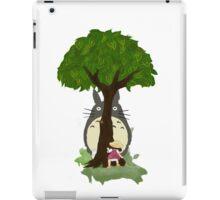 Totoro & Mei play Hide & Seek. iPad Case/Skin