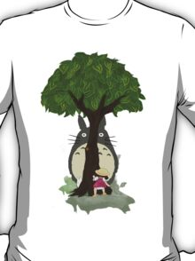 Totoro & Mei play Hide & Seek. T-Shirt