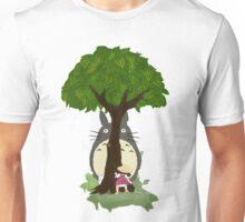 Totoro & Mei play Hide & Seek. Unisex T-Shirt